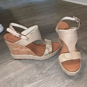 real 7.5in coach wedges